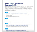Anti-Obesity Medication Coverage Guide
