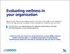 Evaluating Wellness in Your Organization