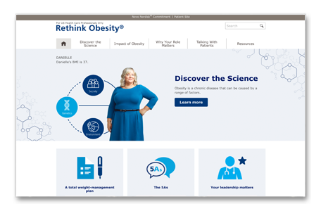 Rethink Obesity® website